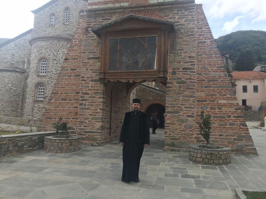 Predica Părintelui Cosmin Tripon la Intrarea Maicii Domnului în Biserică
