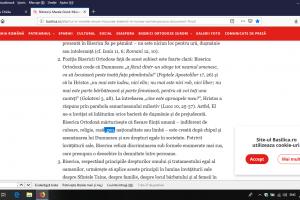 Patriarhia continuă să folosească referirea la discriminarea de gen în traducerea unui document din Creta