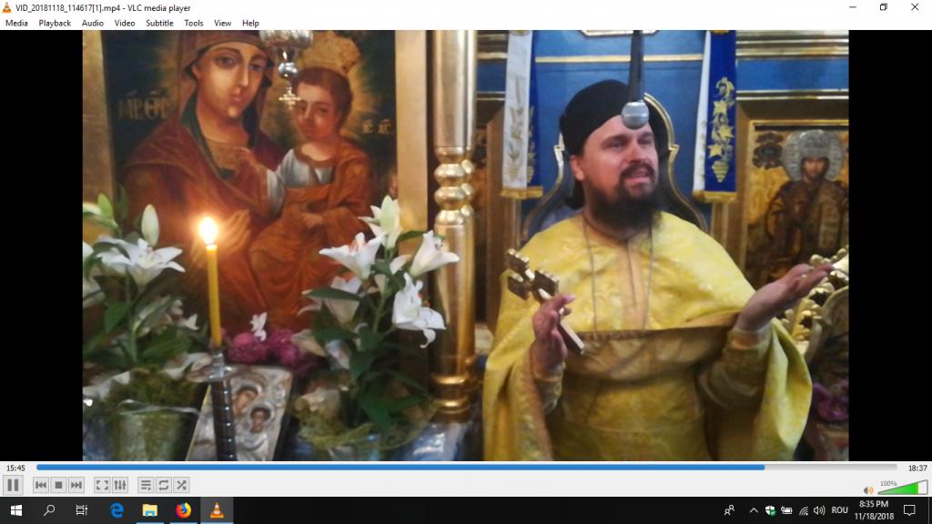 Predica Părintelui Ioan Ungureanu la Duminica Vameșului și Fariseului