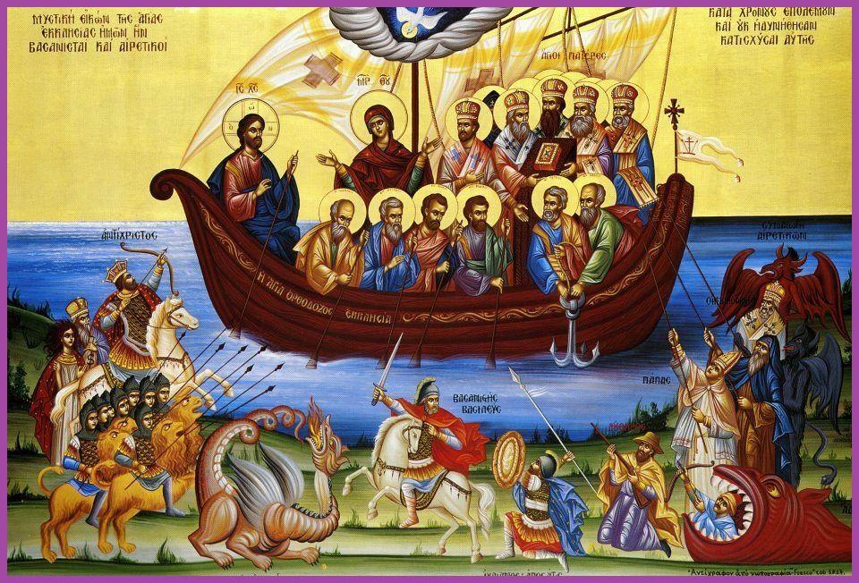 Lămuriri cu privire la mărturisirea echilibrată a celor care s-au îngrădit canonic și patristic de erezie