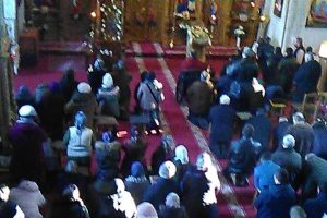 Monahii Sava și Efrem ruinează reduta antiecumenistă de la Rădeni
