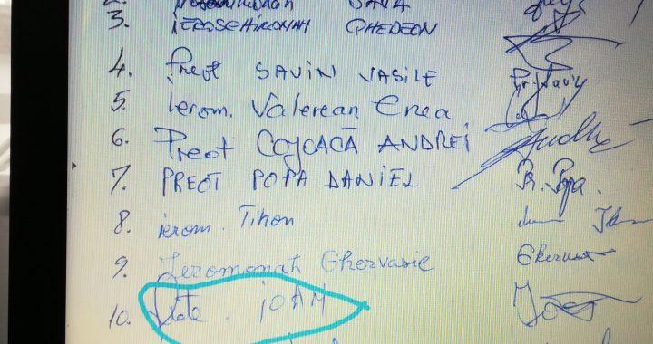 Participant la adunarea de la Roman își retrage public semnătura de pe deciziile acesteia