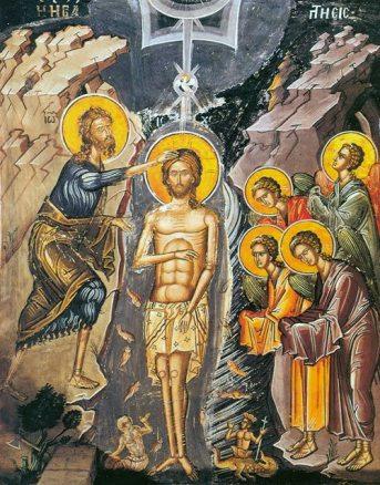 Sensul duhovnicesc al întoarcerii Iordanului la Botezul Domnului