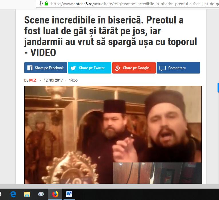 Ierarhii ecumeniști români se poartă ca inchizitorii cu preoții mărturisitori nepomenitori
