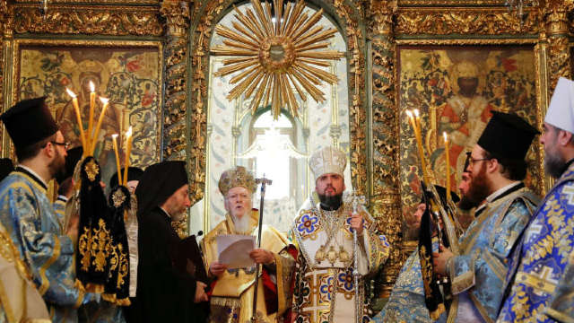 La întronizarea schismaticului Epifanie au lipsit reprezentanții Bisericilor Locale