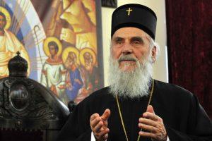 """Patriarhul Irineu al Serbiei: """"nu susținem nici Constantinopolul, nici Rusia, ci aderăm la Canoane""""."""