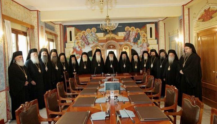 Sinodul Bisericii Greciei declină să recunoască pe ucrainenii schismatici , problema va fi dată în discuție Ierarhiei
