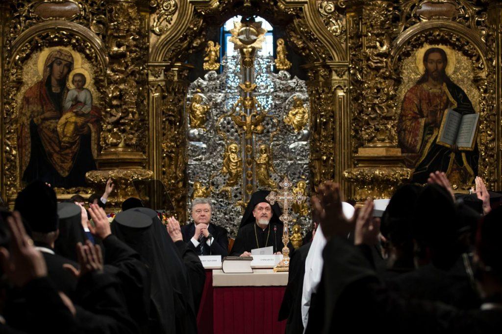 Președintele ucrainean Poroșenko semnează a doua lege anti-Biserică