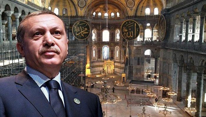 """Erdoğan: """"Aghia Sophia, vechea catedrală creștină din Istanbul, nu va mai deveni niciodată biserică"""""""