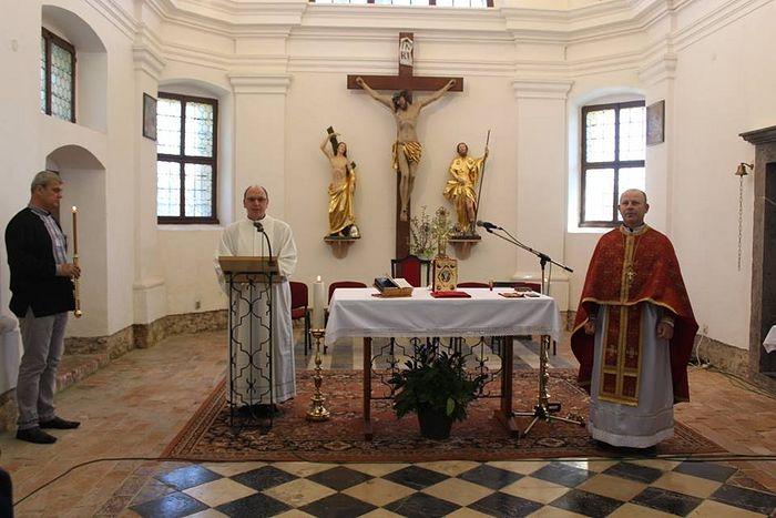 Schismaticii ucraineni deschid o eparhie în Slovenia și slujesc împreună cu papistașii