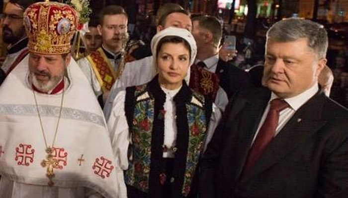 """""""Preot"""" schismatic ucrainean: """"Cel care va vota împotriva lui Poroșenko va arde în iad!""""."""