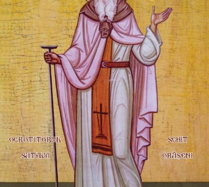 Cum a apărat astăzi Sfântul Sila Parohia Schit Orășeni
