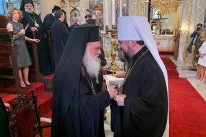 Arhiepiscopul Ieronim al Greciei s-a rugat cu schismaticul Epifanie, alături de Patriarhul Bartolomeu sărbătorit la Istanbul