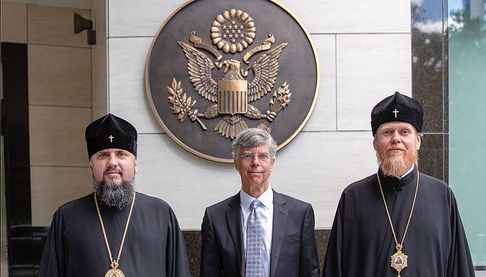 Strict secret: Epifanie discută problema recunoașterii BOU la ambasada SUA