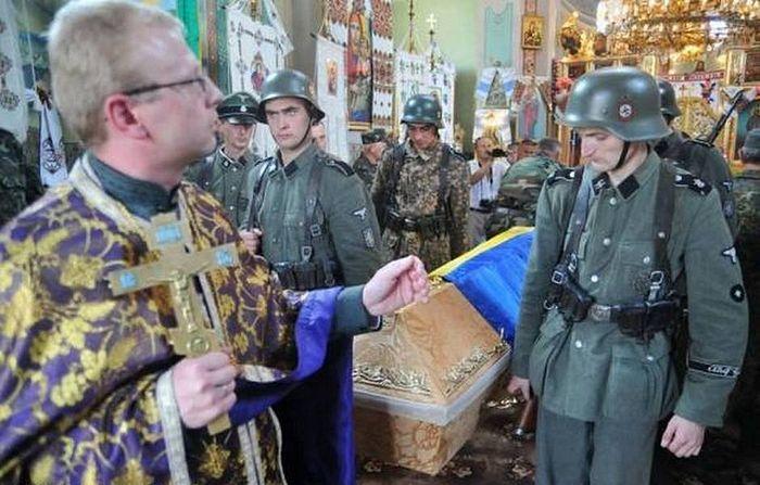 Neonazism promovat de schismaticii ucraineni care vor să canonizeze luptători ai diviziei SS