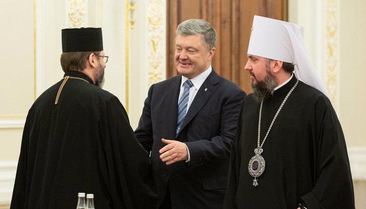 """Poroșenko în Catedrala Romană a Bisericii Greco-Catolice Ucrainiene: """"Este important să ne unim Bisericile"""""""