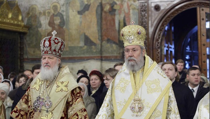 """Întâistătătorul  Bisericii Ciprului în legătură cu schisma ucraineană: """"Depunem eforturi pentru a nu ne scinda"""""""