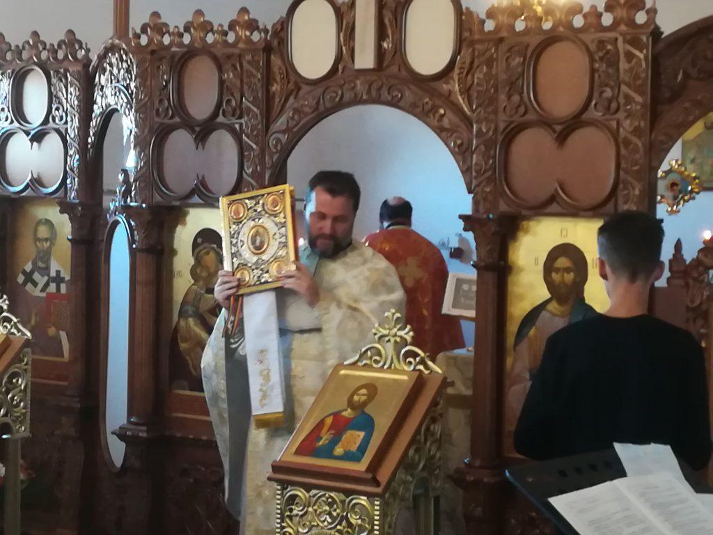 Predica Părintelui Cosmin Tripon la Duminica vindecării femeii gârbove