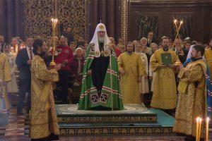 Patriarhul Kiril a întrerupt pomenirea Arhiepiscopului Ieronim