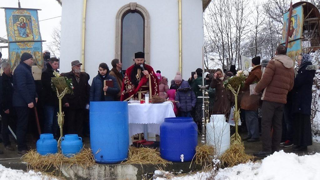 Botezul Domnului în Parohia Schit Orășeni