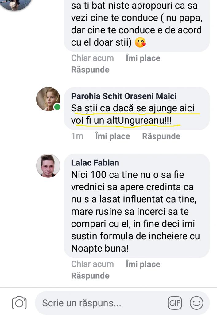 """Preotul ecumenist Bolohan se visează… """"un alt Ungureanu""""!!!"""