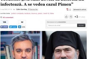Prefectului Județului Constanța: Există dovezi că Biserica nu infestează: IPS Pimen, Biserica Bulgară, Biserica Georgiană…